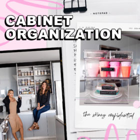 How To Organize The Fuck Out Of Your Random Cabinets During Quarantine