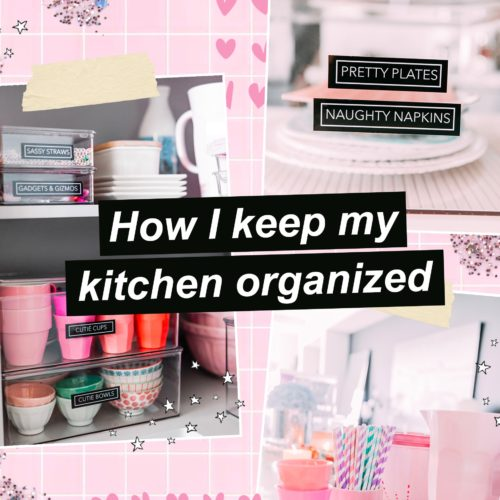 Tips For Organizing Your Kitchen and Pantry When You're Stuck At Home