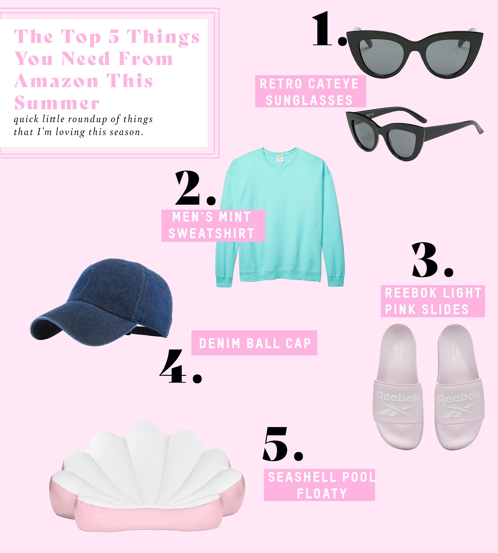As 5 principais coisas que você precisa da Amazon neste verão 4