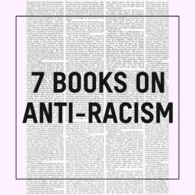 7 books on racism tsc blog graphic
