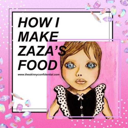 How I Make Zaza's Baby Food and What I'm Feeding Her