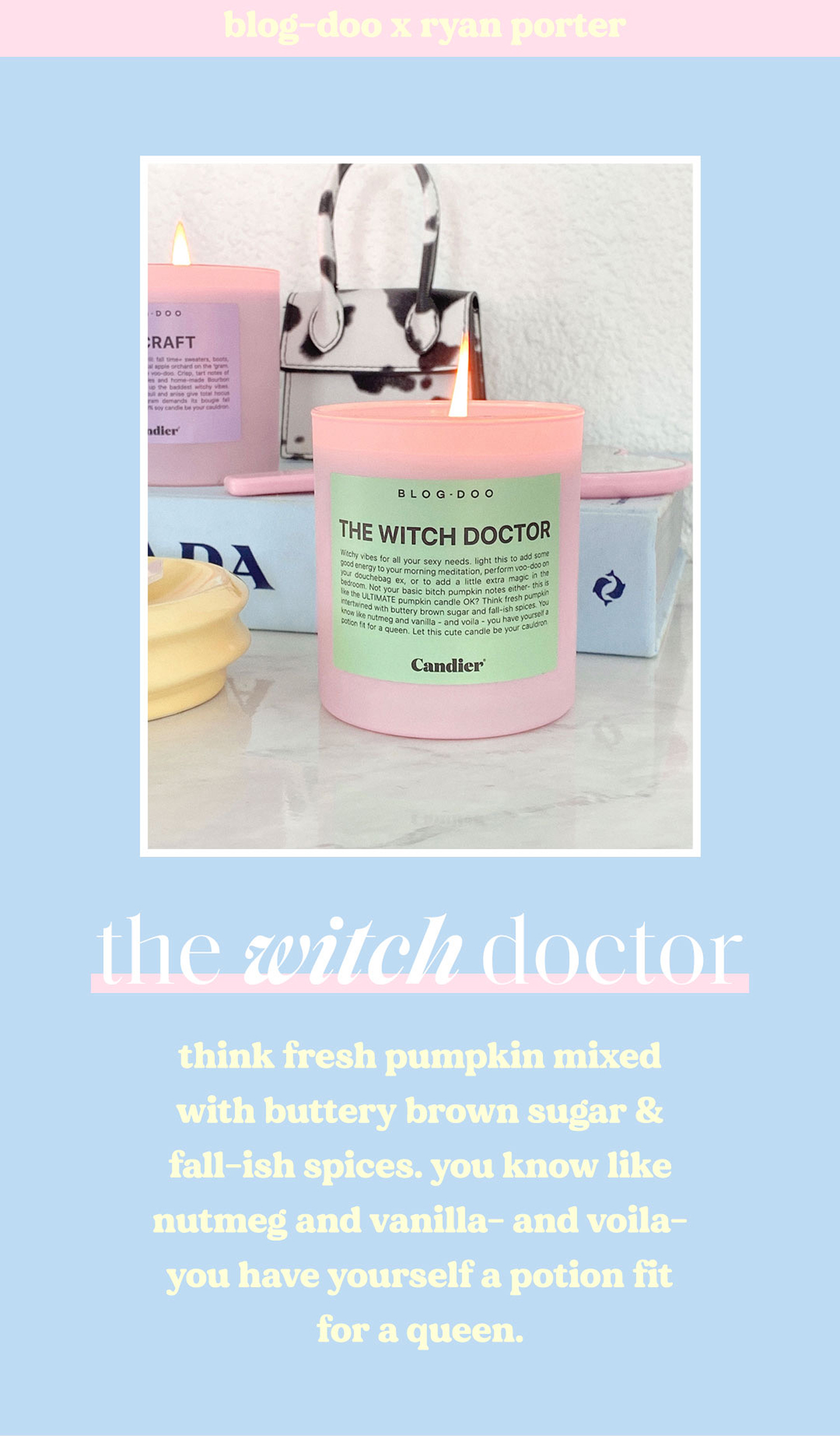 The Dreamy Pastel Candles for Fall