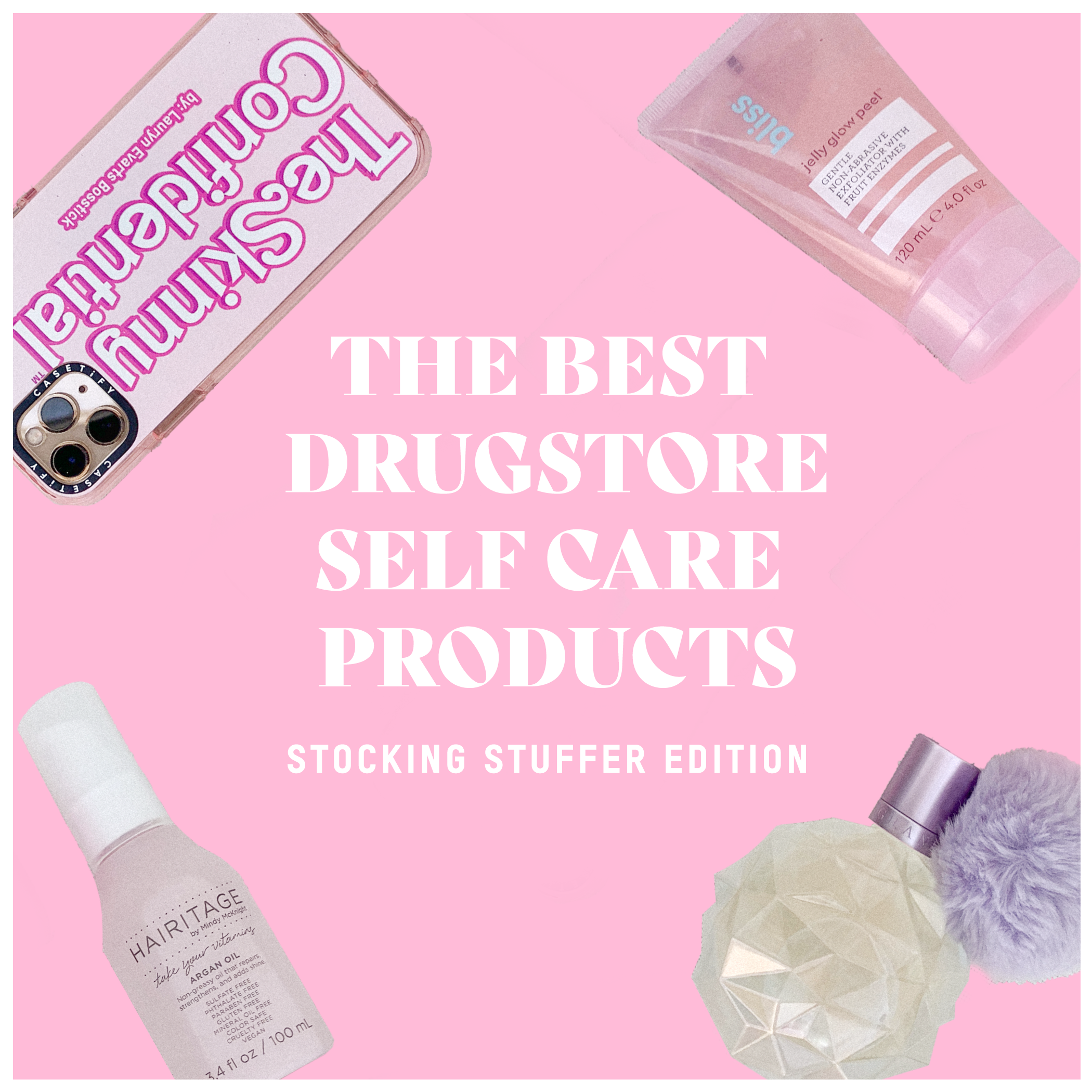 The Best Drugstore Self Care Products: Stocking Stuffer Edition