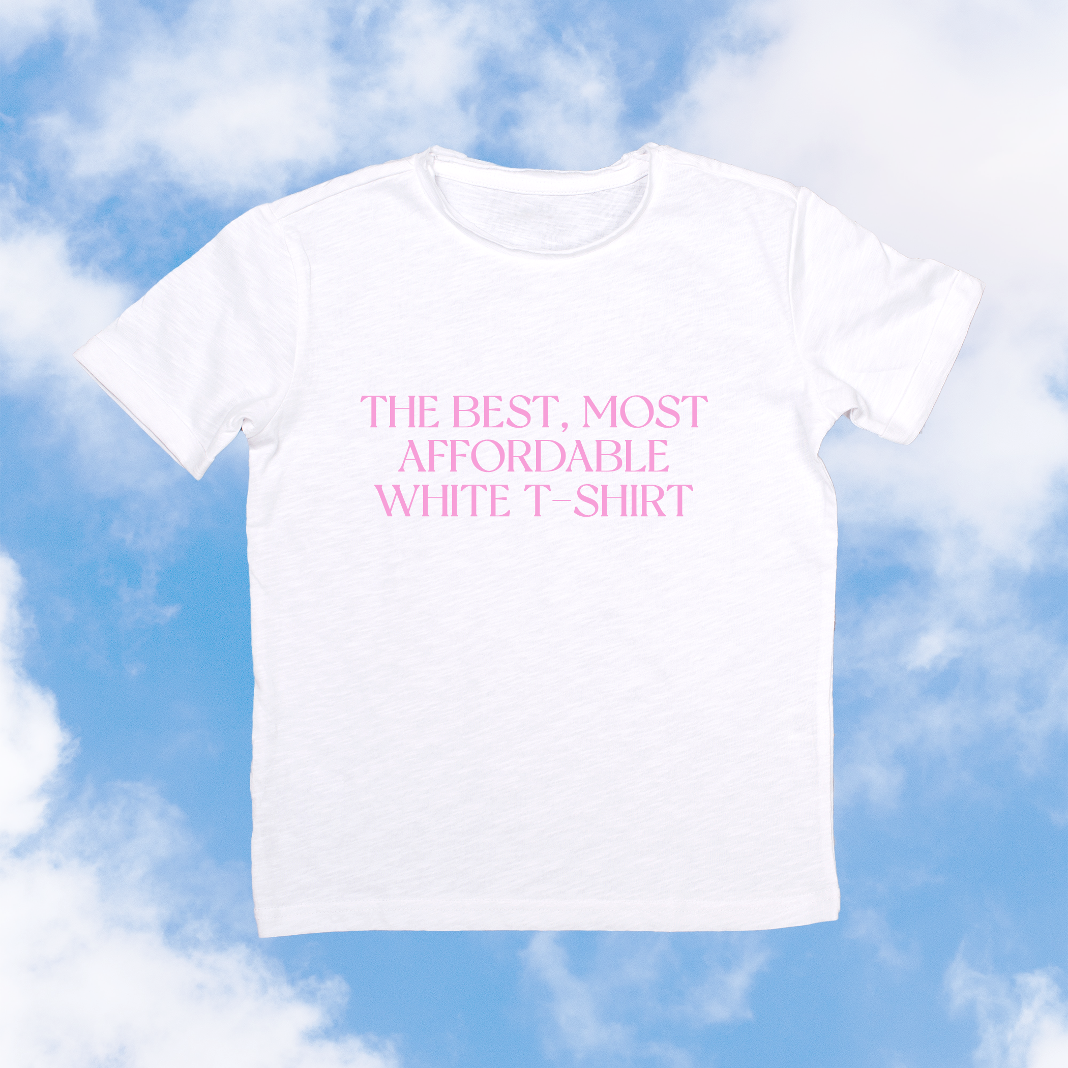 The Best, Most Affordable White T-Shirt