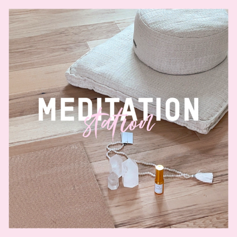 meditation space at home
