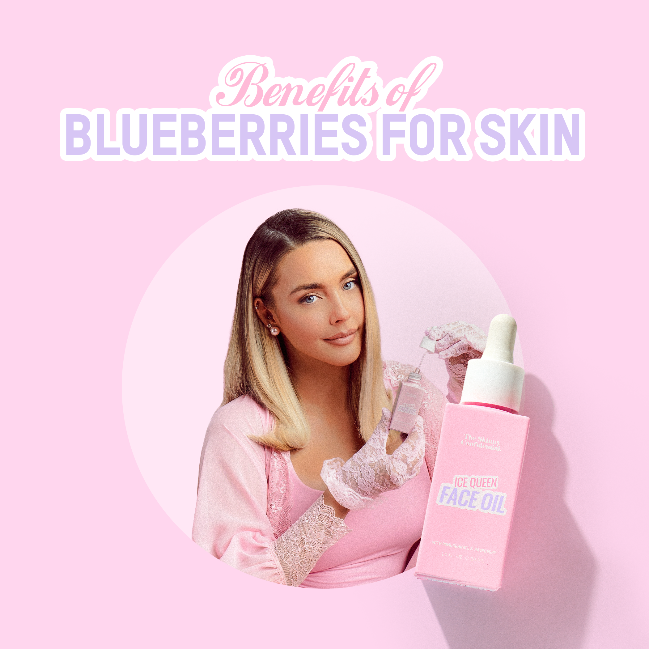 The Benefits of Blueberries for the Skin