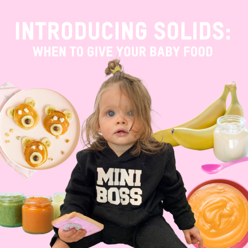 Introducing Solids: Your Baby's First Foods