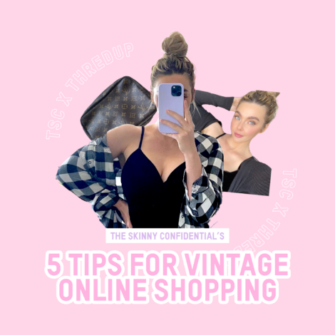 Tips For Shopping Vintage & Second-Hand Online