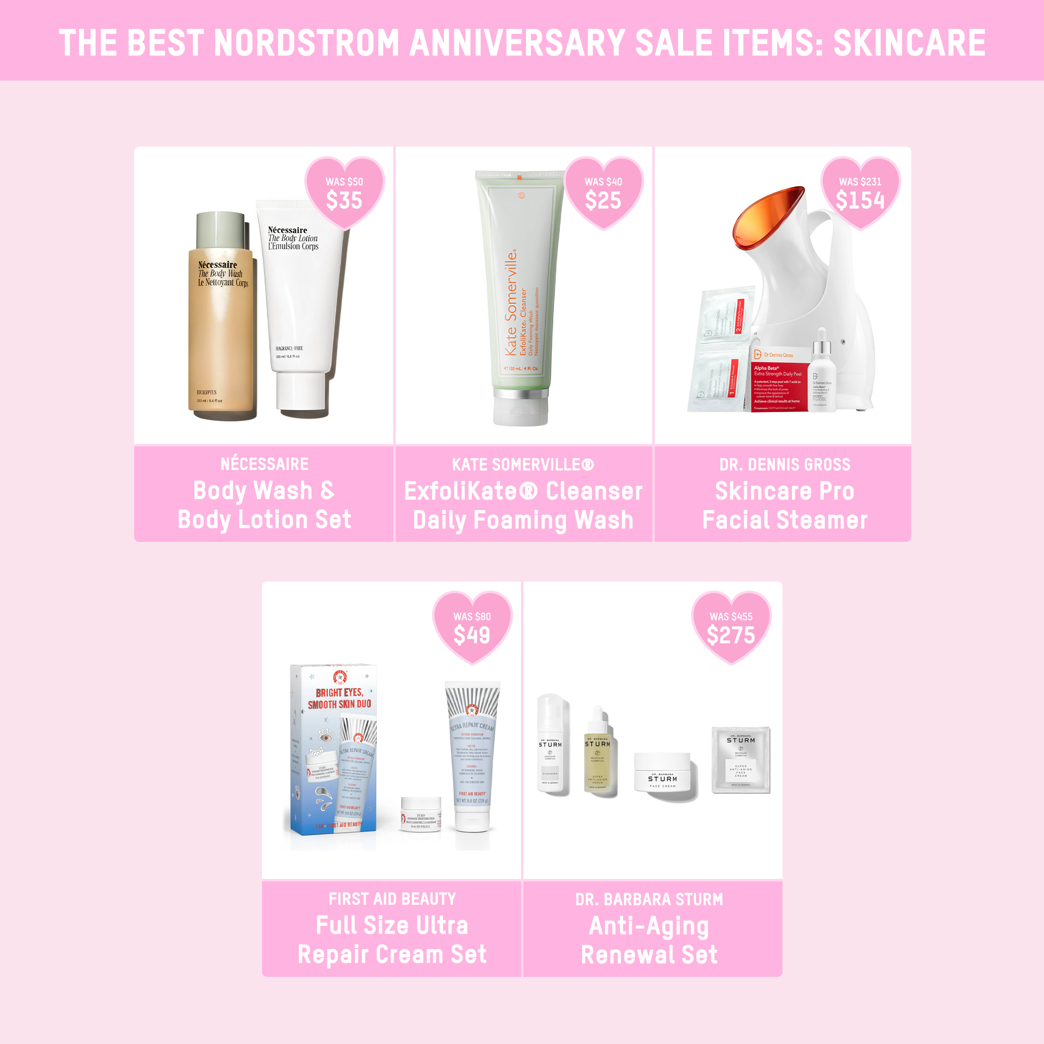 Skincare Nordstrom sale picks