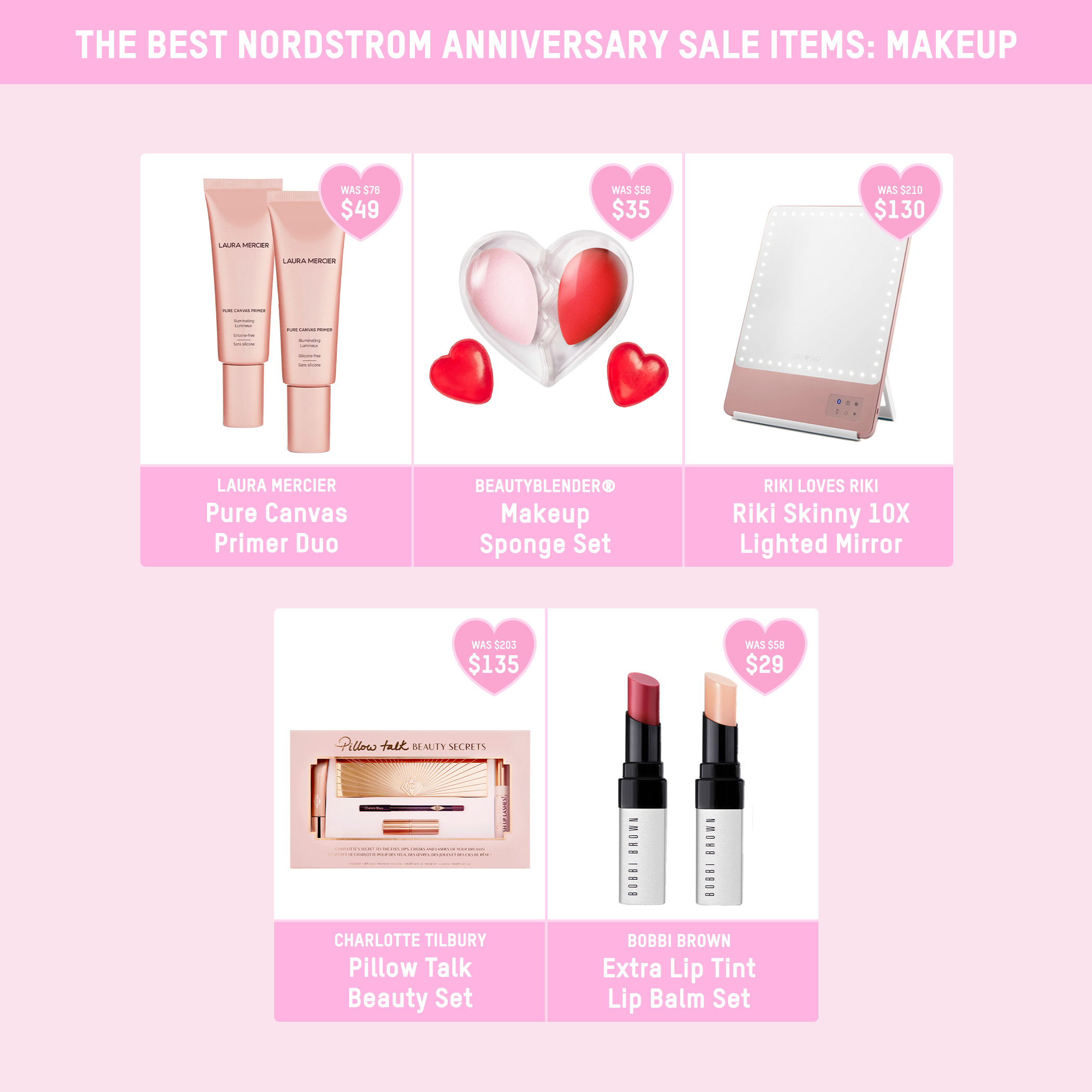 The Best Nordstrom Anniversary Sale Items Makeup