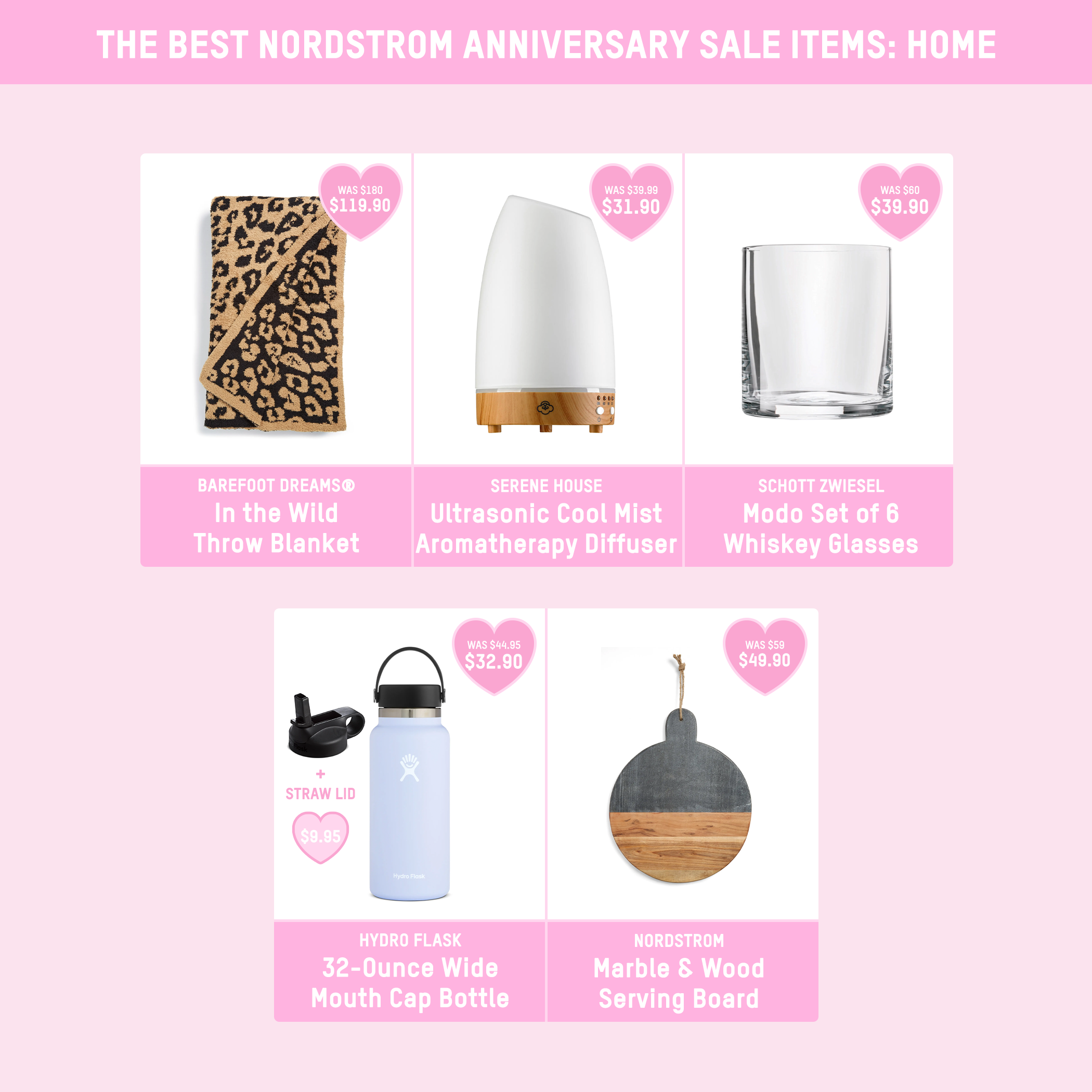 Home items on sale at Nordstrom