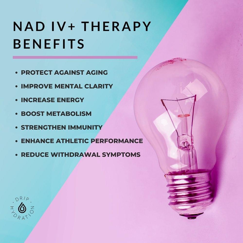 NAD IV+ Therapy Benefits