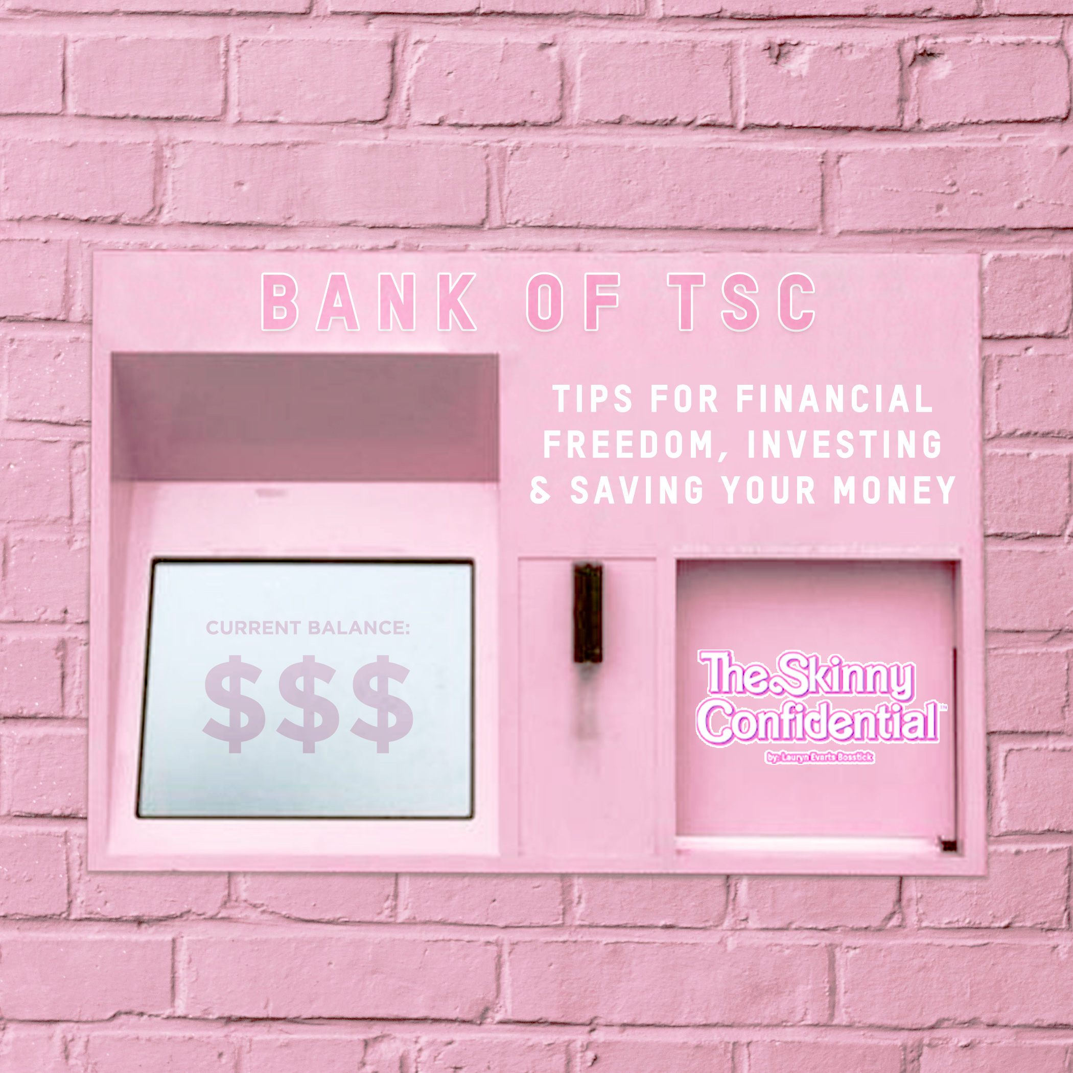 Tips for Financial Freedom, Investing & Saving Your Money