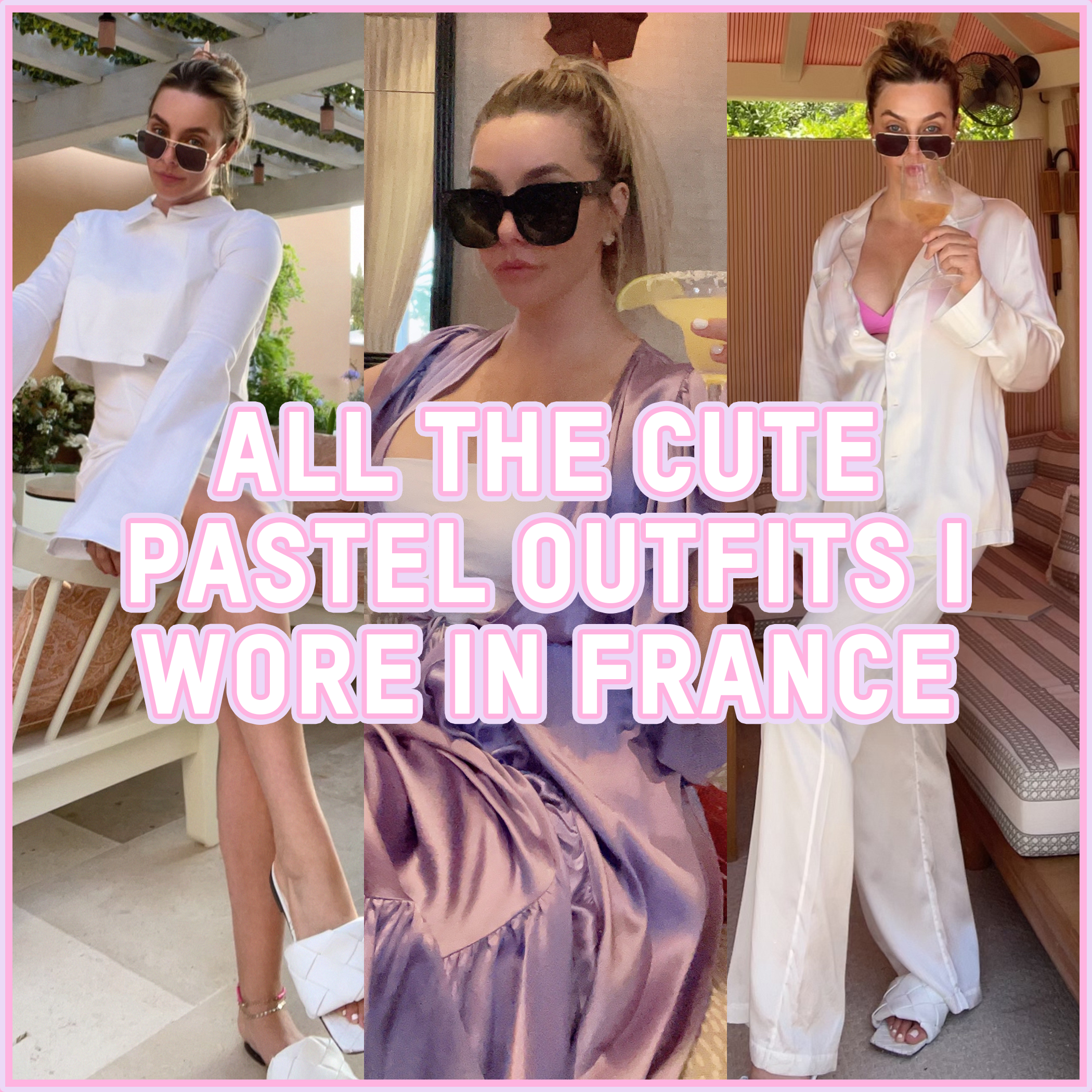All The Cute Pastel Outfits I Wore In France